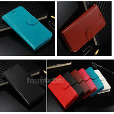 Luxury Magnetic Cover Stand Wallet Leather Card Holder Case For iPhone/Samsung