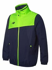 New Balance Training Rain Jacket - Adult - Navy/Toxic