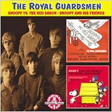 ROYAL GUARDSMEN - Snoopy vs. the Red Baron/Snoopy & His Friends (CD) *RARE *OOP