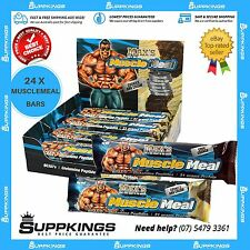 MAXS MUSCLE MEAL PROTEIN BARS - 24 X 85G BARS | HIGH PROTEIN | DELICIOUS