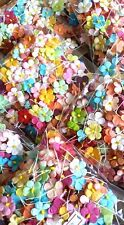 1,000 # LOT MULBERRY PAPER FLOWERS, NEW 20 COLORS MIX CRAFTS CARD WHOLESALE #01