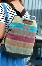 Casual Shoulder bag Hand bag Multi-Color students Canvas Women bag Backpack