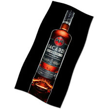 Bacardi Black Edition Flag Banner NEW Rum Bat Collector Poster