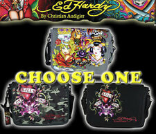 ED HARDY Bag LEO Love kills slowly Allover Messenger