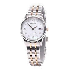 Citizen Analog Business Ladies ECO-DRIVE  Silver JAPAN Watch EW2314-58A