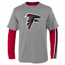 Atlanta Falcons Youth Red/Gray Fan Gear Squad T-Shirt Combo Pack