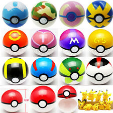10 7cmPokeball Pokemon Pikachu Go Pop-up Game ABS Pet Ball Cosplay Master Figure