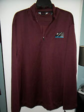 NWT Mens PullOver 1/4 Zip Shirt by AXIST, Sz. XL & XXL, Cool Touch Fabric!