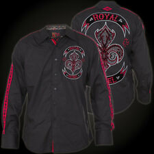 Rebel Spirit Shirt LSW151752 Black