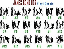Vinyl Decal Sticker 007 James Bond Car Wall Window Laptop Art