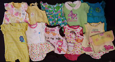 Lots Of Girl's 6 M 3-6 Months One Piece Outfits Rompers Carter's, Okie D Ur Pick