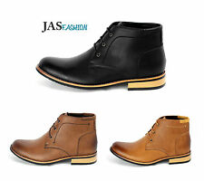 Mens Ankle Boots Casual Fashion Biker Formal Shoes Smart UK 6 7 8 9 10 11 NEW