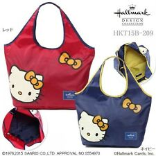 Hello Kitty x Hallmark Pocketable Tote Bag Handbag Purse Sanrio from Japan D4020