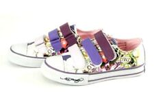 Ed Hardy girl's Kids shoes Love Skulls PURPLE