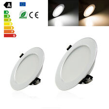 LED Recessed Ceiling Panel Down Light Kits 3W 5W 85-265V Led Downlight Lamp