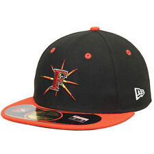 New Era Frederick Keys Black/Orange Authentic Home 59FIFTY Fitted Hat