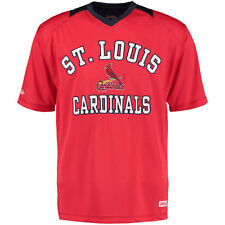 Stitches St. Louis Cardinals Red Jersey Crew Active T-Shirt
