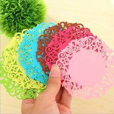 4Pcs Multicolor Coaster Mat Pad Cushion Drinks Tea Cup Tableware Placemat New