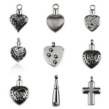 CREMATION JEWELRY Memorial Keepsake ASH URN HOLDER Necklace Pendant