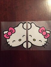Hello Kitty Car Rear View Mirrors, Pink - US Seller