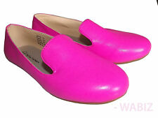 Womens Ballerina Ballet Dolly Pumps Ladies Flat Pink Loafers Shoes Sz 3-8 UK