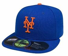 MLB New York Mets 6 7/8 Game Auth Collection New Era 59FIFTY Cap Fitted Hat $40