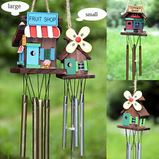 Metal Wind Chimes House Hanging Ornament Unique Windmill Copper Wind Bell Decor