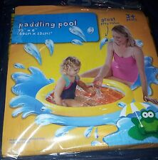 CLEARANCE KIDS INFLATABLE PADDLING POOL