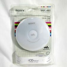 Sony D-EJ001 Portable CD Player Walkman White Vintage NEW Digital Mega Bass
