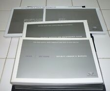 2008 INFINITI G37 COUPE OWNERS MANUAL SET GUIDE 08 G w/case