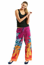 PETER ALEXANDER PJS Womens SIMBA & NALA Lion King Pants Sz M/12 BNWT Cotton PJ