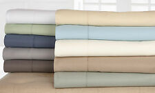 New Wexley Home Microfiber Flannel Egyptian Cotton Bed Sheet Sets Size Twin-King