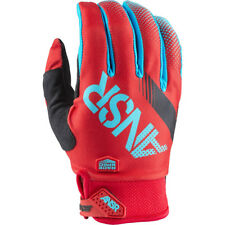 Answer 2017 Mx NEW Syncron BMX MTB Dirt Bike Cyan Red Motocross Gloves