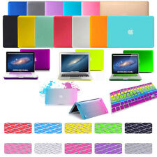 For Apple macbook Air Pro White 11 12 13 15 Rubberized case cover keyboard cover