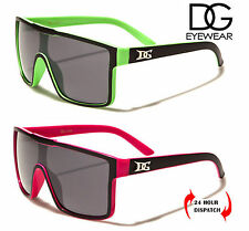 DG Eyewear Classic Men Women Black Celebrity Square Coloured Sunglasses UV400