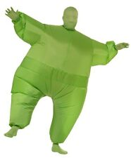 Green Inflatable Jumpsuit Adult Unisex Costume, Green, Rubies