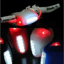 Wholesale 4 colors bike bicycle 7 LED silicon warning light high quality