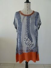 LADIES BNWT M.STYLE PRINT TUNIC DRESS 10 12 14