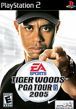 SONY Playstation 2 Tiger Woods PGA Tour 2005 '05 ps2 video game complete Rated E