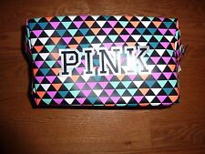 VICTORIAS SECRET PINK BLING ZIP MULTI-USE COSMETIC/MAKEUP BEACH BAG  NWT