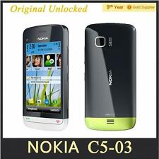 Cheapest Original Unlocked Nokia C5-03 Mobile Phone GPS WIFI Bluetooth 3G 5MP