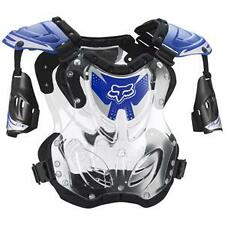 Fox Racing MX/ATV Offroad Blue/Clear R3 Roost Deflector