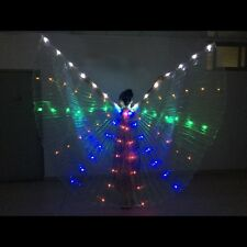 Isis wings Egyptian Club light up Ali Belly Dance Isis Wing LED Dance Costume