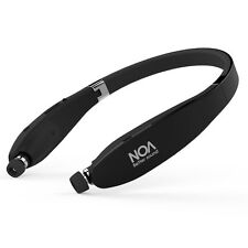 Wireless 4.1 Bluetooth Retractable nackband Stereo Headphones Headsets - noa