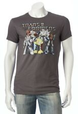 Transformers Retro 1980s Brown T-Shirt TV Cartoon - Men's S or XXL - New w/Tags!