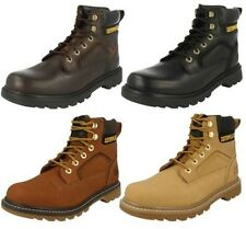 Mens Caterpillar Lace Up Boots Stickshift