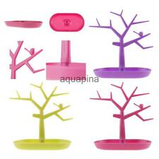 Plastic Creative Multi-color Tree Jewelry Holder Pendants Earrings Display Stand