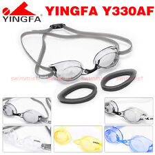 NEW YINGFA Y330AF SWIMMING GOGGLES ANTI-FOG BLACK WHITE YELLOW BLUE [FREE SHIP]!