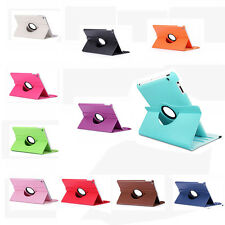 360 Rotating Leather Case Smart Cover Swivel Stand for iPad Mini 1 2 3 #YL