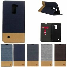 Luxury Flip Cover Stand Wallet PU Leather Card Holder Case For LG G2 G4 G5 K10
